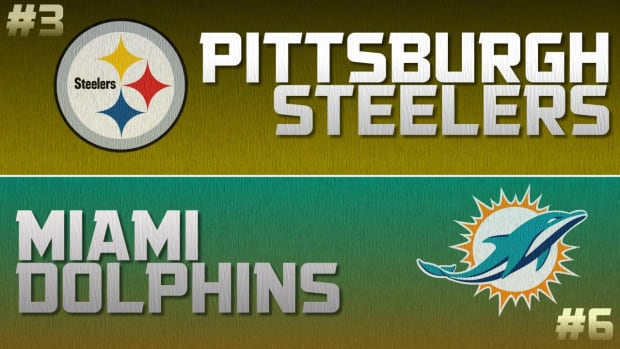 Playoff Breakdown: Dolphins vs. Steelers IMAGE