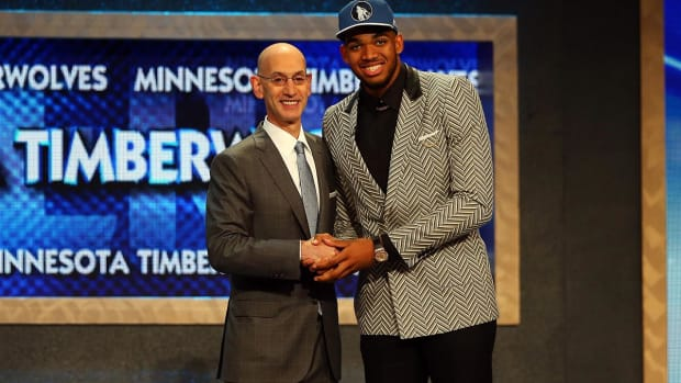 Where have the big men gone in the NBA Draft? - IMAGE