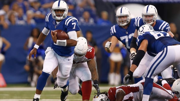 Andrew Luck Out for Week 3, Brissett to Start--IMAGE