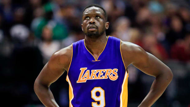 Lakers forward Luol Deng comments on travel ban - IMAGE