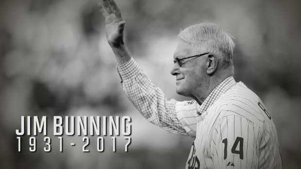 Hall of Fame pitcher, former U.S. senator Jim Bunning dies at 85--IMAGE