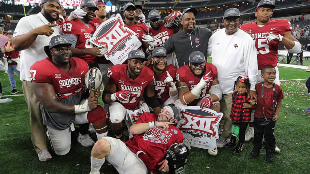 No. 2 Oklahoma, Behind Baker Mayfield, Win Big-12 Championship--IMAGE