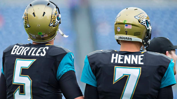 Chad Henne to Start Over Blake Bortles in Jaguars' Third Preseason Game - IMAGE