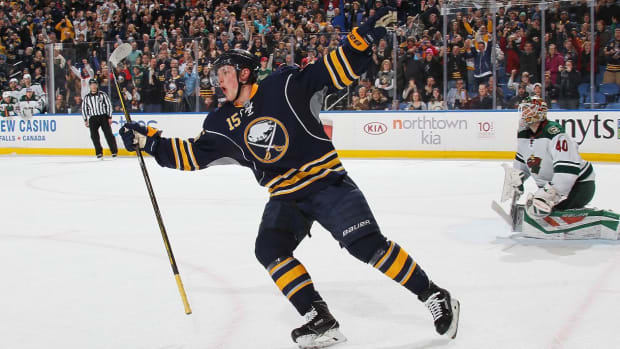 Jack Eichel Signs 8-Year, $80 Million Extension With Sabres--IMAGE