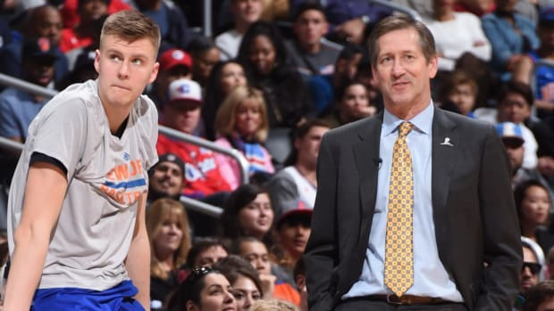 Report: Porzingis Skipped Knicks Exit Interview Over Dispute With Hornacek - IMAGE