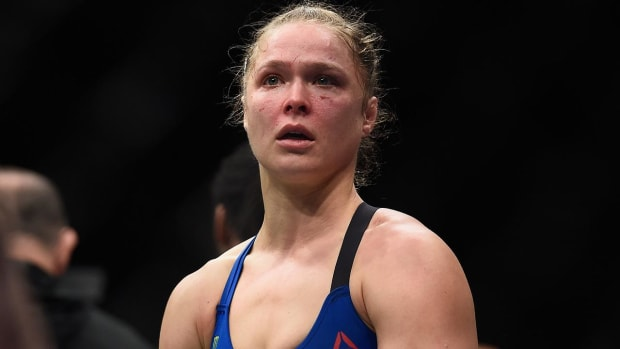 UFC president Dana White says Ronda Rousey 'probably done' with fighting - IMAGE