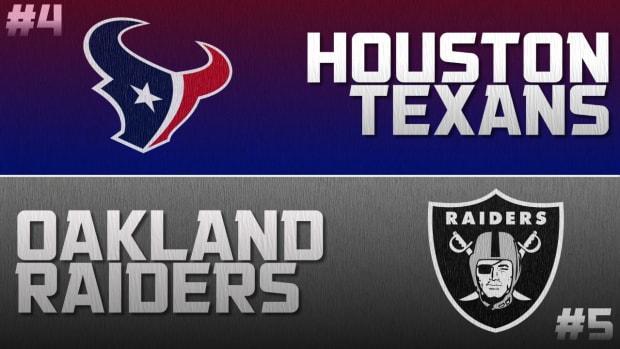 Playoff Breakdown: Raiders vs. Texans IMAGE