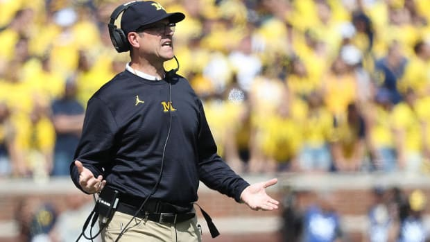 Jim Harbaugh Rips Conditions at Purdue - IMAGE