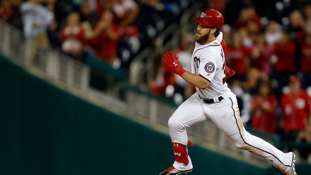 Nationals, Bryce Harper agree to contract for 2018--IMAGE