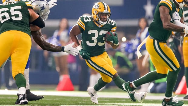 What Did They Miss: Packers RB Aaron Jones and Jaguars DE Yannick Ngakoue - IMAGE