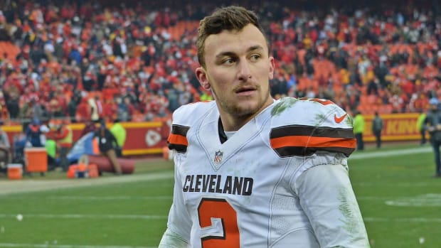#DearAndy: Will Johnny Manziel make an NFL comeback? -- IMAGE
