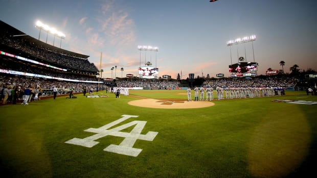 The Dodgers are selling the naming rights to Dodger Stadium's field for $12 million