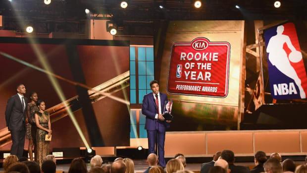 Malcolm Brogdon wins 2017 NBA Rookie of the Year Award--IMAGE
