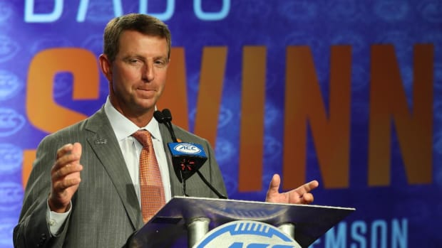 Clemson, Dabo Swinney Agree to 8-Year, $54 Million Contract Extension - IMAGE