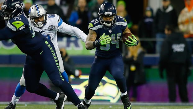 Seahawks knock off Lions,  advance to NFC Divisional Round--IMAGE