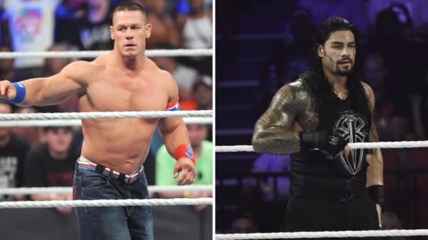 John Cena and Roman Reigns Set to Face Off for the First Time Ever - IMAGE