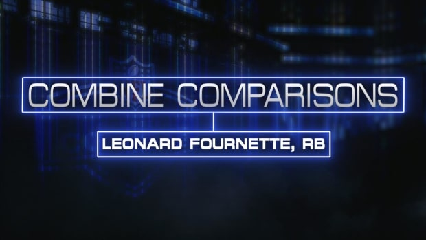 Combine Comparisons: Leonard Fournette, RB IMAGE