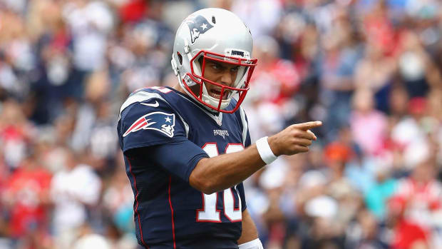 Report: Browns interested in trading for Patriots backup QB Jimmy Garoppolo - IMAGE