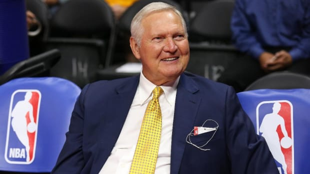 Jerry West wishes the NBA would change its logo - IMAGE