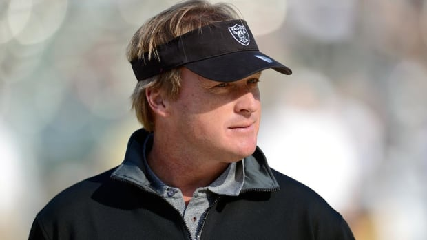 Colts owner Jim Irsay reportedly courting Jon Gruden, Peyton Manning--IMAGE