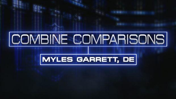 Combine Comparisons: Myles Garrett, DE IMAGE