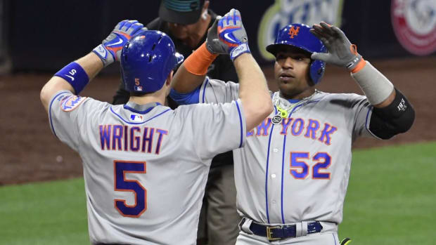 Mets' David Wright Shuts Down Rehab Stint, Yoenis Cespedes Out for Season - IMAGE