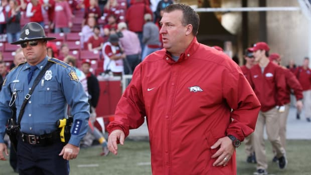 Arkansas Fires Bret Bielema After Five Seasons--IMAGE