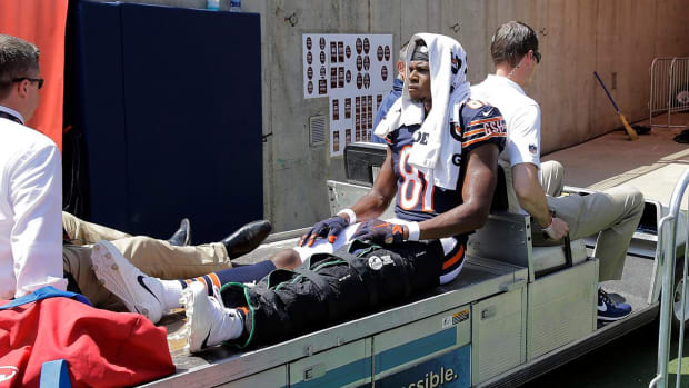 Report: Bears WR Cameron Meredith Tears ACL, Out for Season - IMAGE