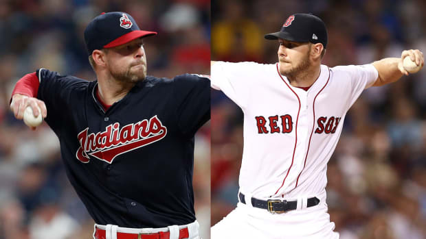 corey kluber vs chris sale cy young
