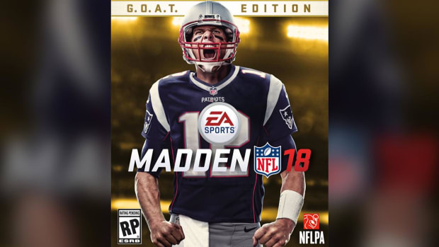 Tom Brady lands Madden 18 cover - IMAGE