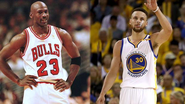 '96 Chicago Bulls vs. '17 Golden State Warriors: Who wins?--IMAGE