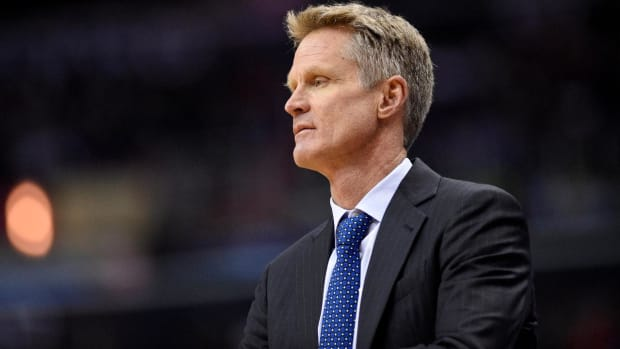 Steve Kerr still unsure if he'll coach Warriors in Finals-IMAGE