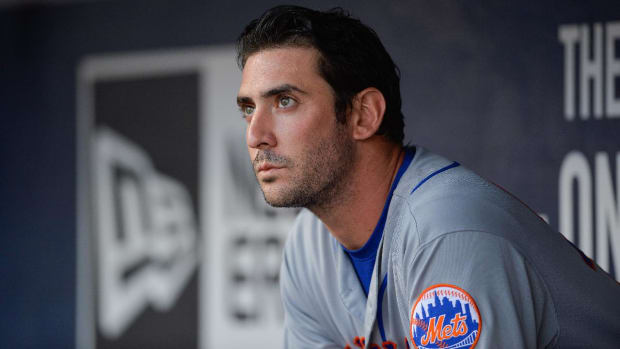 Mets suspend Matt Harvey for three days--IMAGE