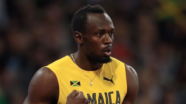 Usain Bolt Finishes Third in Final 100-Meter Race, Justin Gatlin Wins Gold - IMAGE