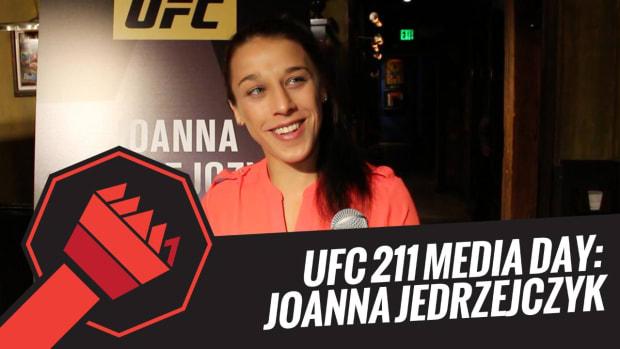 UFC 211 Media Day: Joanna Jedrzejczyk -- IMG