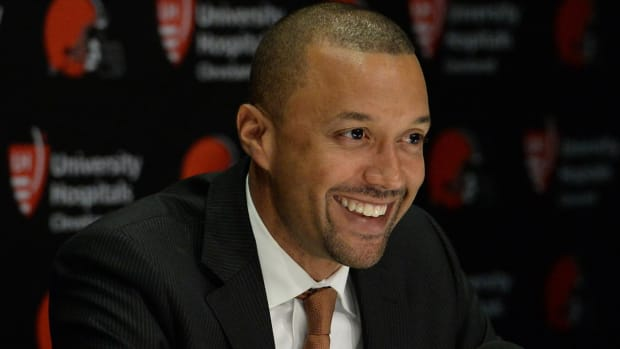 Reports: Browns Fire Head of Football Ops Sashi Brown--IMAGE