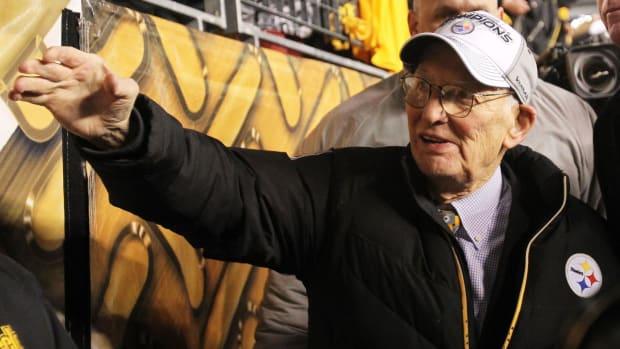 Pittsburgh Steelers chairman Dan Rooney dies at 84--IMAGE