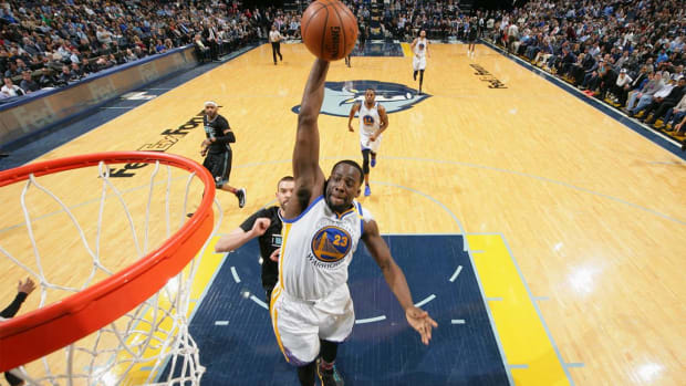Draymond Green records historic triple-double--IMAGE