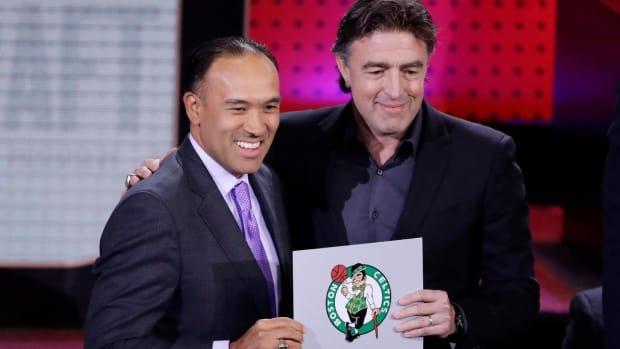 Boston Celtics win 2017 NBA Draft Lottery--IMAGE