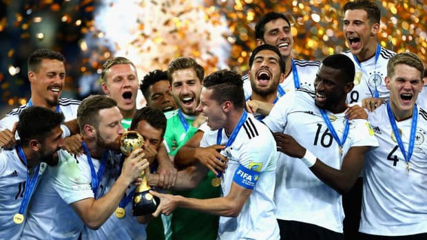 Germany back atop FIFA rankings for first time in two years--IMAGE