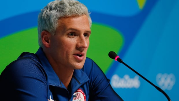 Ryan Lochte cleared of all charges from 2016 incident in Rio--IMAGE