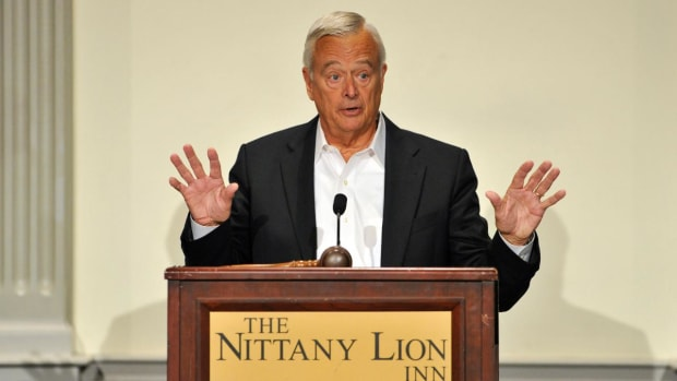 Penn State trustee: I have no sympathy for Sandusky victims--IMAGE