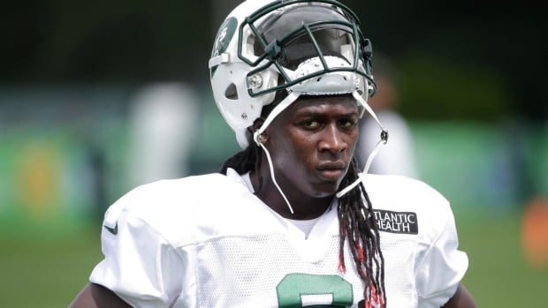 Jets WR Lucky Whitehead Breaks Foot in Practice - IMAGE