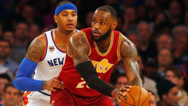 Carmelo Anthony: LeBron would want to play with me - IMAGE