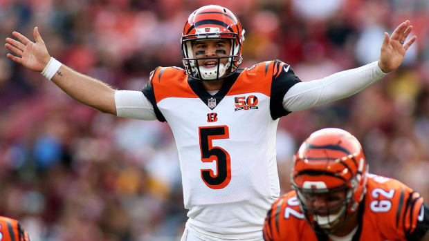 Report: Browns, Bengals Had Agreed to AJ McCarron Trade, Missed Deadline - IMAGE
