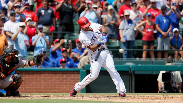 Rangers' Adrian Beltre Records 3,000th Career Hit - IMAGE