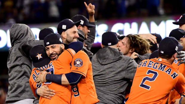Astros Win First World Series Title in Franchise History - IMAGE
