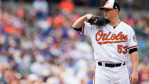 Orioles Closer Zach Britton Breaks AL Record With 55 Consecutive Saves - IMAGE