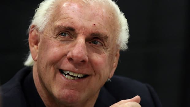 At 67 years old, Ric Flair is still a beast - IMAGE