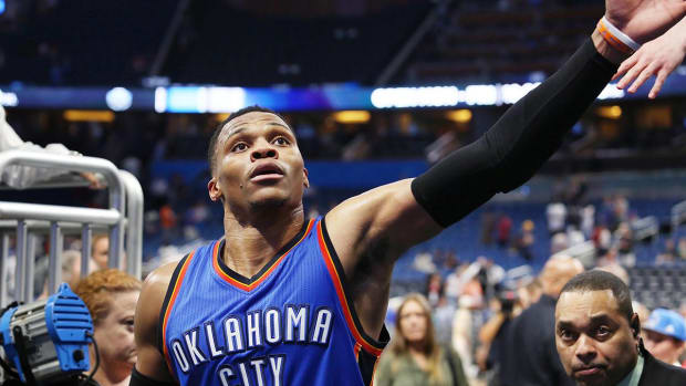 Russell Westbrook scored 57 points in win, sets NBA record for most in triple-double - IMAGE